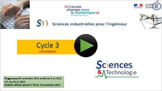 sciences vivant cycle 3